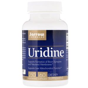 Jarrow Formulas, Uridine, 250 mg, 60 kapsí