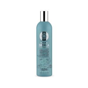 Natura Siberica Hydrolates Hydratační šampon pro suché vlasy, 400ml