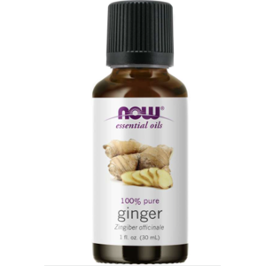 NOW® Foods NOW Essential Oil, Ginger oil (éterický zázvorový olej), 30 ml