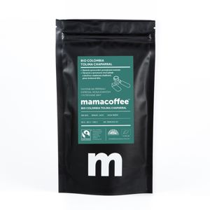 Mamacoffee - Bio Colombia Tolima Chaparral, 100g Druh mletie: Zrno