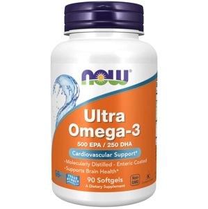 NOW® Foods NOW Ultra omega-3. 90 softgelových kapslí