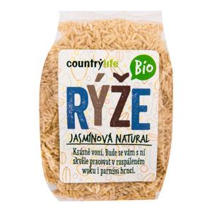 CountryLife - Rýže jasmínová natural BIO, 500g *cz-bio-001 certifikát