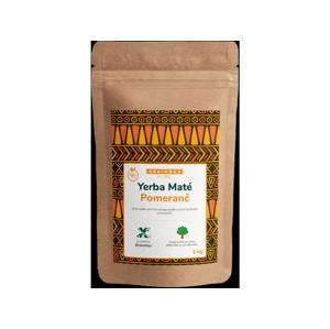 Votamax BrainMax Pure Organic Yerba Maté - Pomeranč, 1000 g