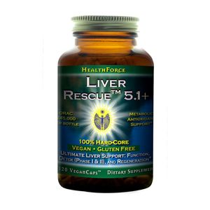 HealthForce LIVER RESCUE™ - 120 kapsúl