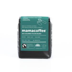 Mamacoffee - Bio Colombia Tolima Bilbao ASPRASAR, 250g Druh mletie: Zrno