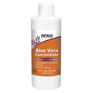 NOW® Foods NOW Aloe Vera Concentrate (koncentrát z Aloe vera), 118 ml