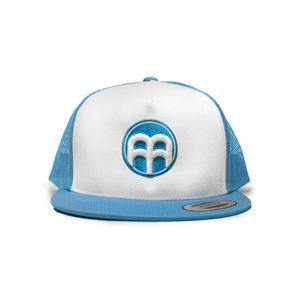 BrainMarket snapback kšiltovka modro/bílá