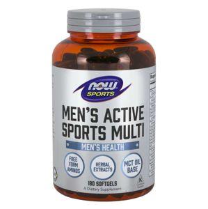 NOW® Foods Now Men's Active Sports Multi (multivitamín pro aktivní muže), 180 softgelových kapslí