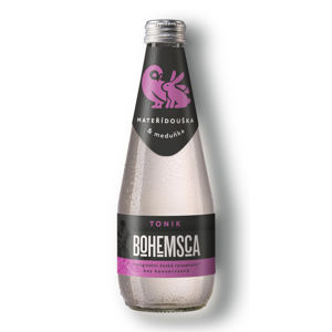 Bohemsca Tonic water mateřídouška a meduňka, 330 ml