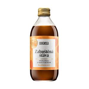 Bohemsca Zahuštěná šťáva meruňka s rakytníkem bez přidaného cukru, 330 ml