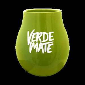 Verde Mate Kalabasa keramická - zelená