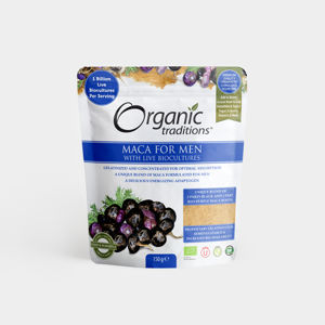 Organic Traditions Maca for Men - 150g, Bio
