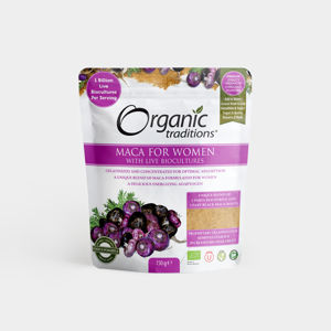 Organic Traditions Maca for Women - 150g, Bio