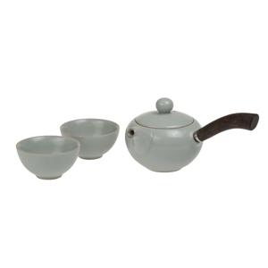 Oxalis Mist - porcelánová čajová souprava