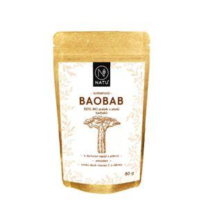 NATU - Baobab BIO Prášek 80g