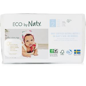 ECO by Naty Naty - Plienky Mini 3-6 kg (33 ks)