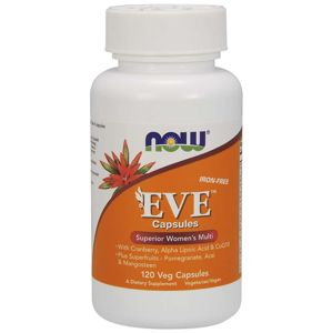 NOW® Foods NOW Multi Vitamins Eve, Women's Superior, 120 rostlinných kapslí