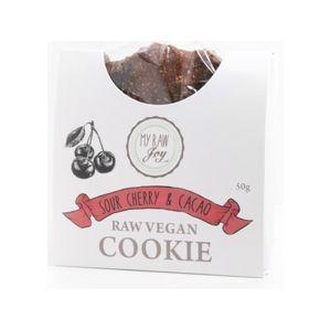 """My Raw Joy - """"Superfood"""" sušienka - Višňa & Kakao, 50g"""