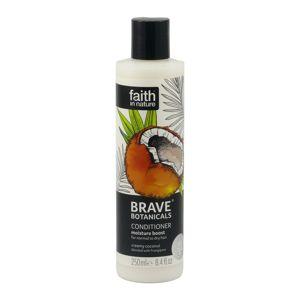 Faith In Nature BRAVE Přírodní kondicioner - Kokos/Plumérie, 250ml
