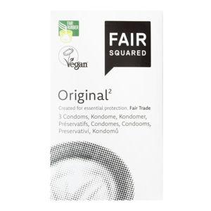 FAIR SQUARED - Veganský přírodní kondom - Original Počet ks v balení: 3ks