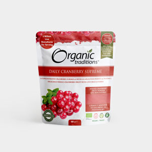 Organic Traditions Daily Cranberry Supreme - 100g, Bio