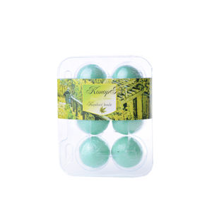 BOTANICO - bath bombs (šumivá koupelová koule), 6x20g - konopí
