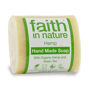 Faith in Nature tuhé mydlo - HEMP citrus/konope, 100 g