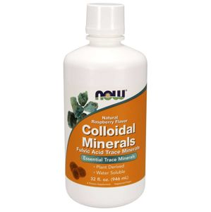 NOW® Foods NOW Colloidal Minerals, Malina (koloidní minerály), 946 ml