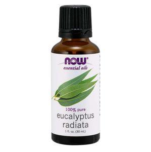 NOW® Foods NOW Essential Oil, Eucalyptus radiata oil (éterický eukalyptový olej), 30 ml