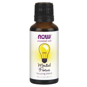 NOW® Foods NOW Essential Oil, Mental Focus oil (éterický olej mentální soustředění), 30 ml