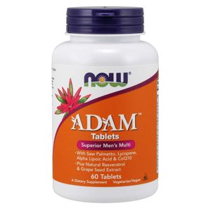 NOW® Foods NOW Multi Vitamins Adam, Men's Superior, 60 tablet