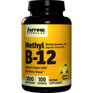 Jarrow Formulas Jarrow Methyl B-12, 1000mcg, 100 pastilek